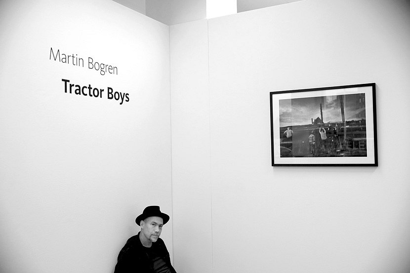 Eröffnung Martin Bogren
