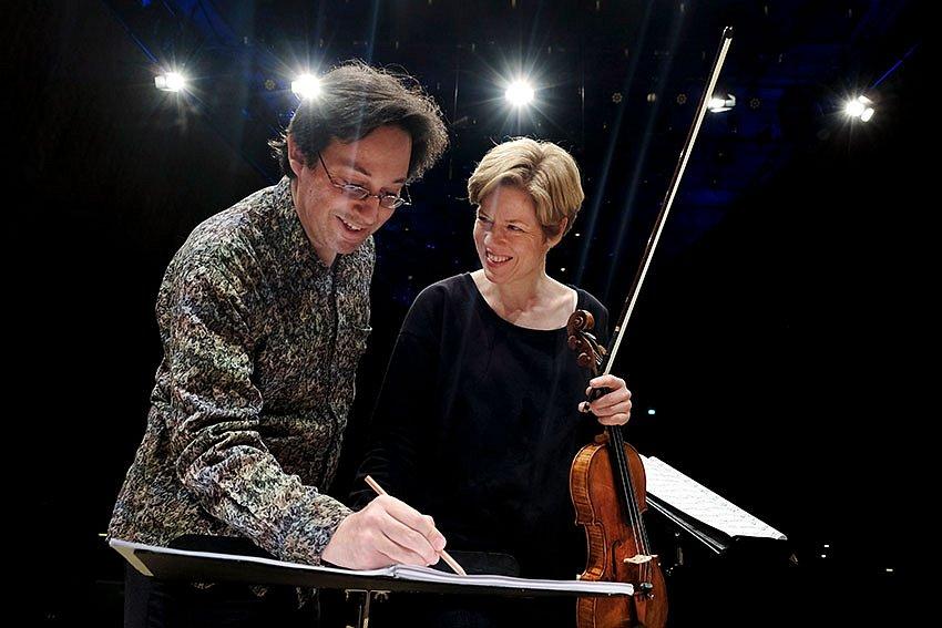 "Oscar Strasnoy, Isabelle Faust - ""identity"" - Elbphilharmonie"